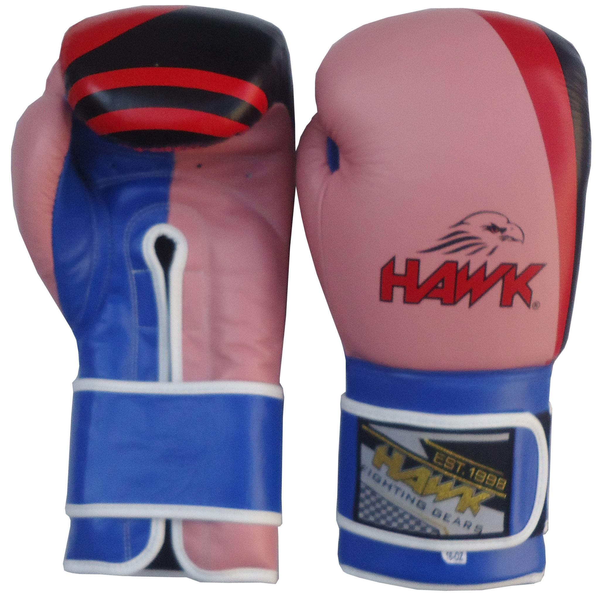 EXXACT Boxing Gloves Muay Thai Training Professional Cow Hide Leather Sparring